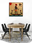 Religion of Ancient Egypt Art Print on the wall