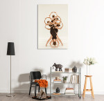 Beauty Ballerinas Art Print on the wall