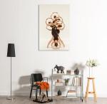 Beauty Ballerinas Art Print on the wall