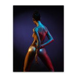 Body in Neon Art Print