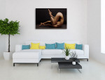 Caucasian Beauty Art Print on the wall
