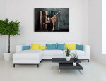 Classic Ballerina Art Print on the wall