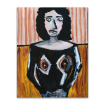 Figurative Woman Art Print