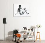 Life Figure Art Print on the wall