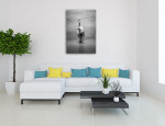 Male Ballet Art Print on the wall