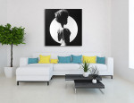 Perfect Light Canvas Art Print on the wall