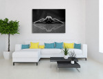 Yoga Grace Canvas Print on the wall