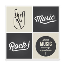 Music Design Wall Art Print