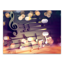 Musical Signs Wall Art Print