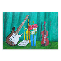 Still Life Music Art Print