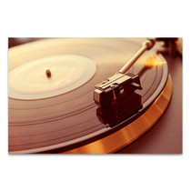 Turntable Canvas Art Print