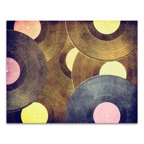 Vinyl Record Canvas Art Print