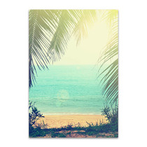 Tropical Background Wall Print