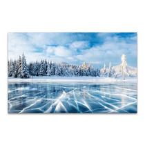 Winter Blue Sky Art Print