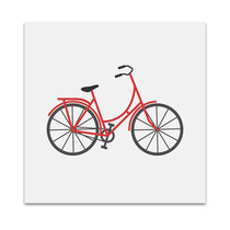 Bicycle Icon Art Print