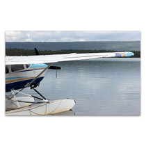 Floatplane In Alaska Wall Art Print