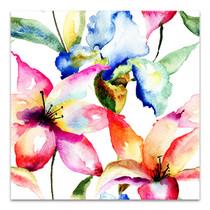 Lily and Iris Canvas Art Print