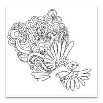 Flying Bird Wall Print