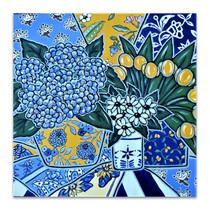 Brooke Howie | Hydrangeas and Yellow Tulips