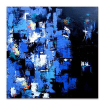 Brooke Howie | Indigo Abstract
