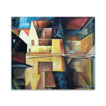 Cubist Art Painting