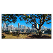 Brisbane Art Print New Farm City