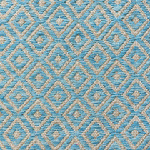 Blue Diamond Geometric Patterned Rugs