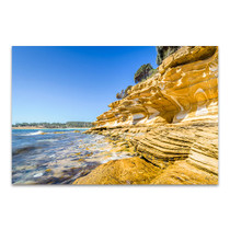 Tasmania Canvas Print Maria Island in Clear Day