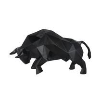 Poly Resin Black Bull