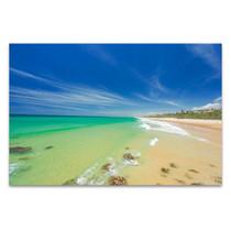 Beach Australia Sunshine Coast Art Print