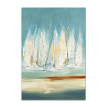 A Day to Sail I Wall Art Print, Lisa Ridgers
