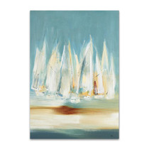 A Day to Sail II Wall Art Print, Lisa Ridgers