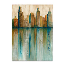 City View I Wall Art Print, Norm Olson