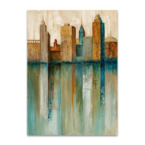 City View II Wall Art Print, Norm Olson