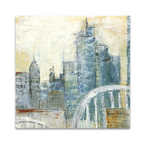 Abstract Cityscape III Wall Art Print