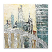 Abstract Cityscape IV Wall Art Print
