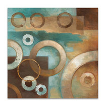 Circular Motion I Wall Art Print