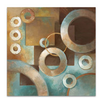 Circular Motion II Wall Art Print