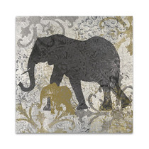 Elephants Exotiques Wall Art Print