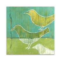 Flock Wall Art Print