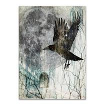 Full Moon Rising Wall Art Print