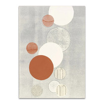 Light Grey Word Bubble Wall Art Print