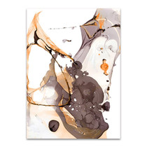 Nail Polish Abstract E III Wall Art Print