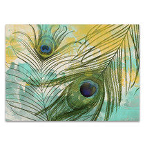 Painted Peacock Wall Art Print