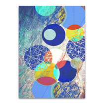 Patterned Circles I Wall Art Print