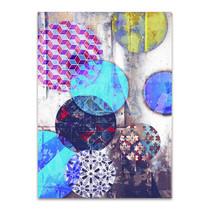 Patterned Circles II Wall Art Print