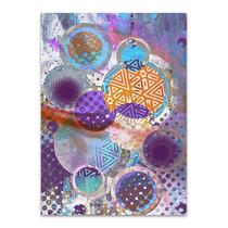Patterned Circles III Wall Art Print