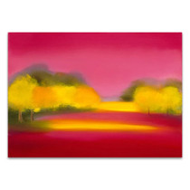 Raspberry Fantasy Wall Art Print