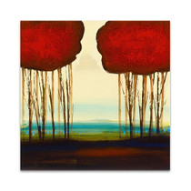 Red Duo I Wall Art Print