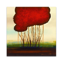 Red Solo I Wall Art Print